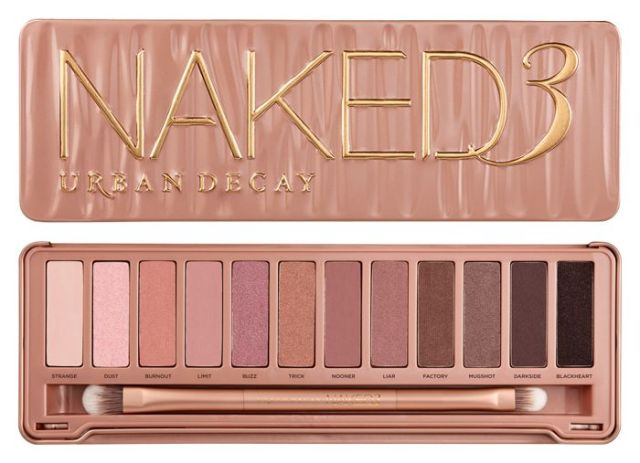 Urban Decay Naked3 Naked 3 eyeshadow palette